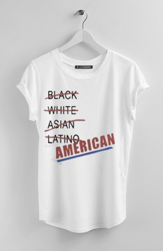 AMERICAN WHITE T SHIRTS
