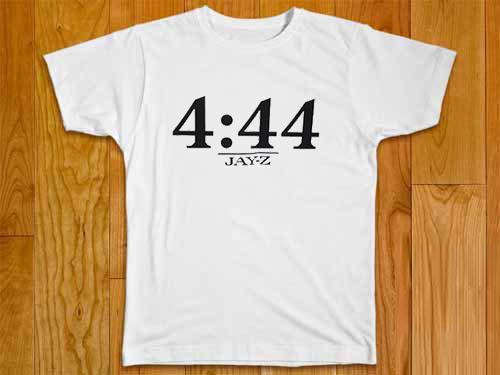 4 44 jayz time whiteT-shirt