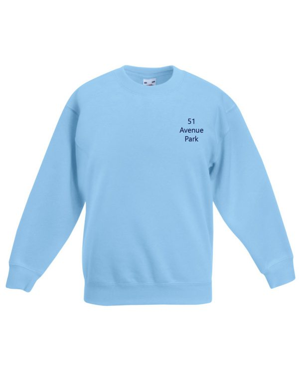 51 Avenue Park Blue Sweatshirts