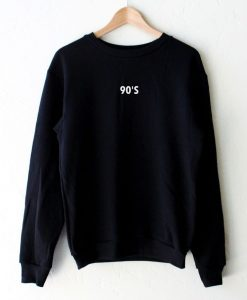 90's Black Colour Sweatshirts