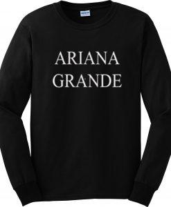 ARIANA GRANDE black-sweatshirt