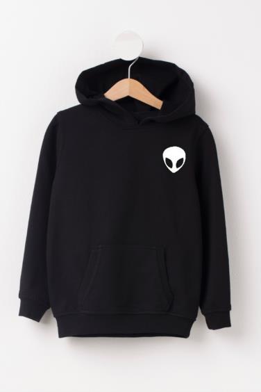 Alien Black Hoodie