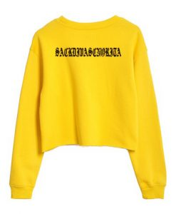 Ariana Grand Yellow Sweatshirt