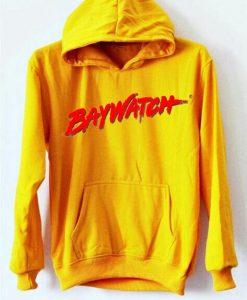 Baywatch Yellow HOODIE