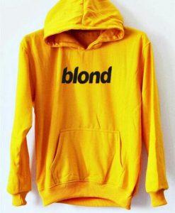 Blond Yellow Hoodie