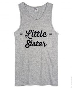 Little Sister Tank Top Grey