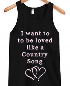 Love Like a Country Song Tank Top