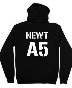 Newt A5 Hoodie Back