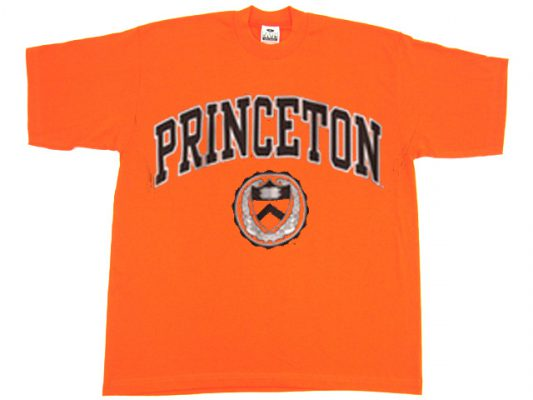 Princeton University Orange Tshirts