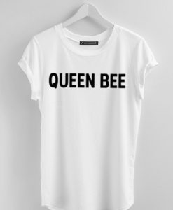 QUEEN BEE WHITE TEES