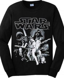Star Wars New Hope black Sweatshirt