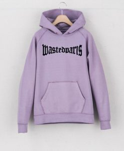Wasted Paris Hoodie Light Purple