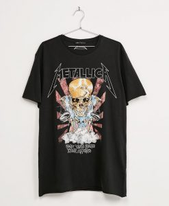 metallica soon you'll please appetite t shirts Black