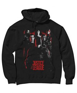 Age of Heroes Justice League Hoodie Black