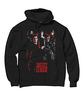 Age of Heroes Justice League Hoodie Black