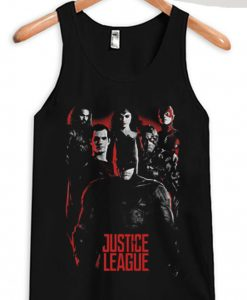 Age of Heroes Justice League Tank top Black