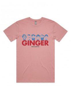 Brockhampton 'Ginger' Pink T-shirt