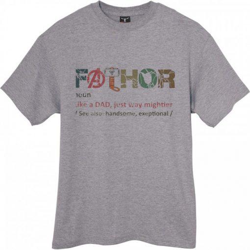 Fa Thor grey noun shirt