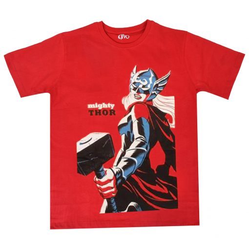 Mighty Thor Red Tees