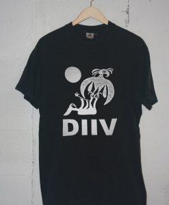 diiv oshin Black Tshirts