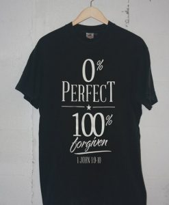 0% perfect 100% black t shirts