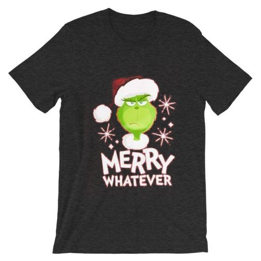 The Grinch Marry Whatever Green AsphaltT shirts