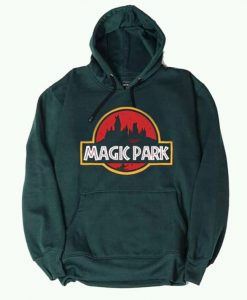 New Design Magic Park Potterhead Green Hoodie